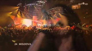 Eurovision 2007 Final 24 - Natalia Barbu - Fight - Moldova