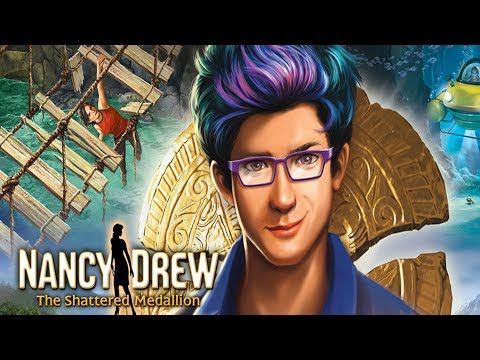 NANCY ON REALITY TV - Nancy Drew Games -The Shattered Medallion #1