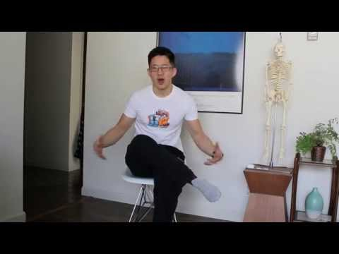 A convenient and effective glute and hip rotator stretch