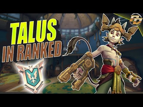 """Paladins: TALUS IN RANKED! """"Masters Gameplay"""""""