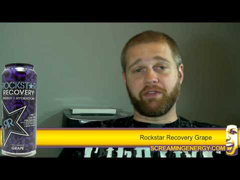 Rockstar Recovery Grape Energy + Hydration Drink Review