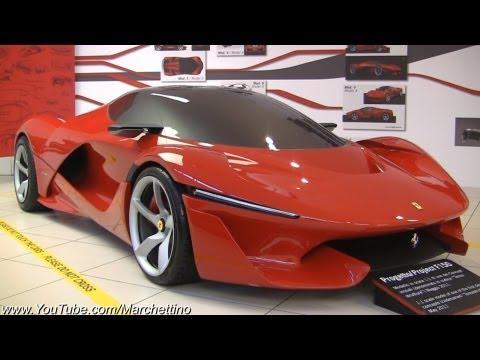 Ferrari LaFerrari Concept Tensostruttura