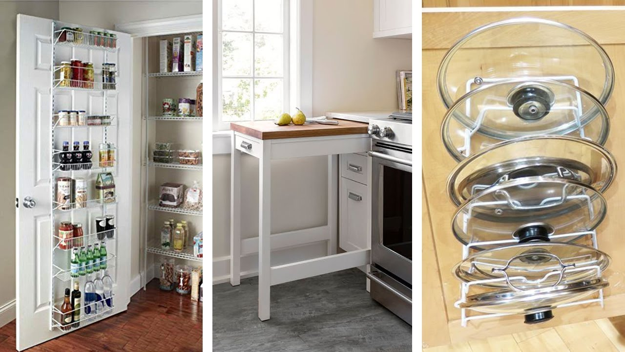12 Easy Small Kitchen Storage Ideas