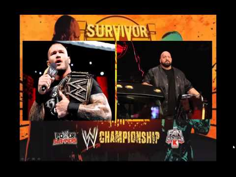 WWE Survivor Series 2013 : WWE Championship : Randy Orton vs  The Big Show
