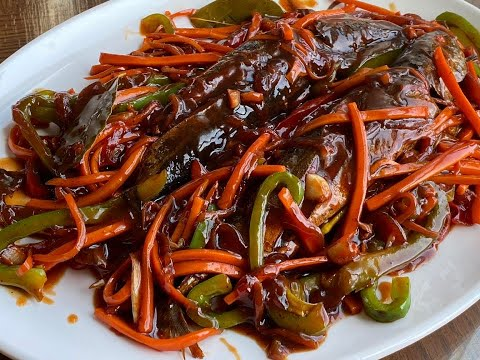 BISAYA STYLE ESCABECHE TULINGAN | SWEET AND SOUR FISH RECIPE