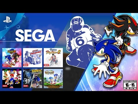 Sega & Sonic Month on PlayStation Now | PS4
