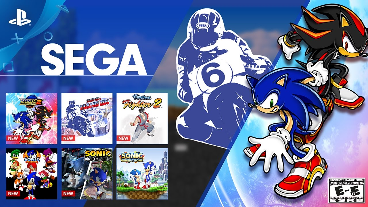 Sega Sonic Month On Playstation Now Ps4 Youtube