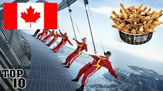 Video TOP 10 THINGS TO DO IN CANADA download MP3, 3GP, MP4, WEBM, AVI, FLV Maret 2017