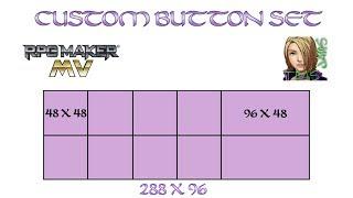 HOW TO CUSTOM BUTTON SET RPG MAKER MV