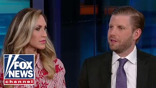 Eric and Lara Trump on Barr's bombshell, exciting family news