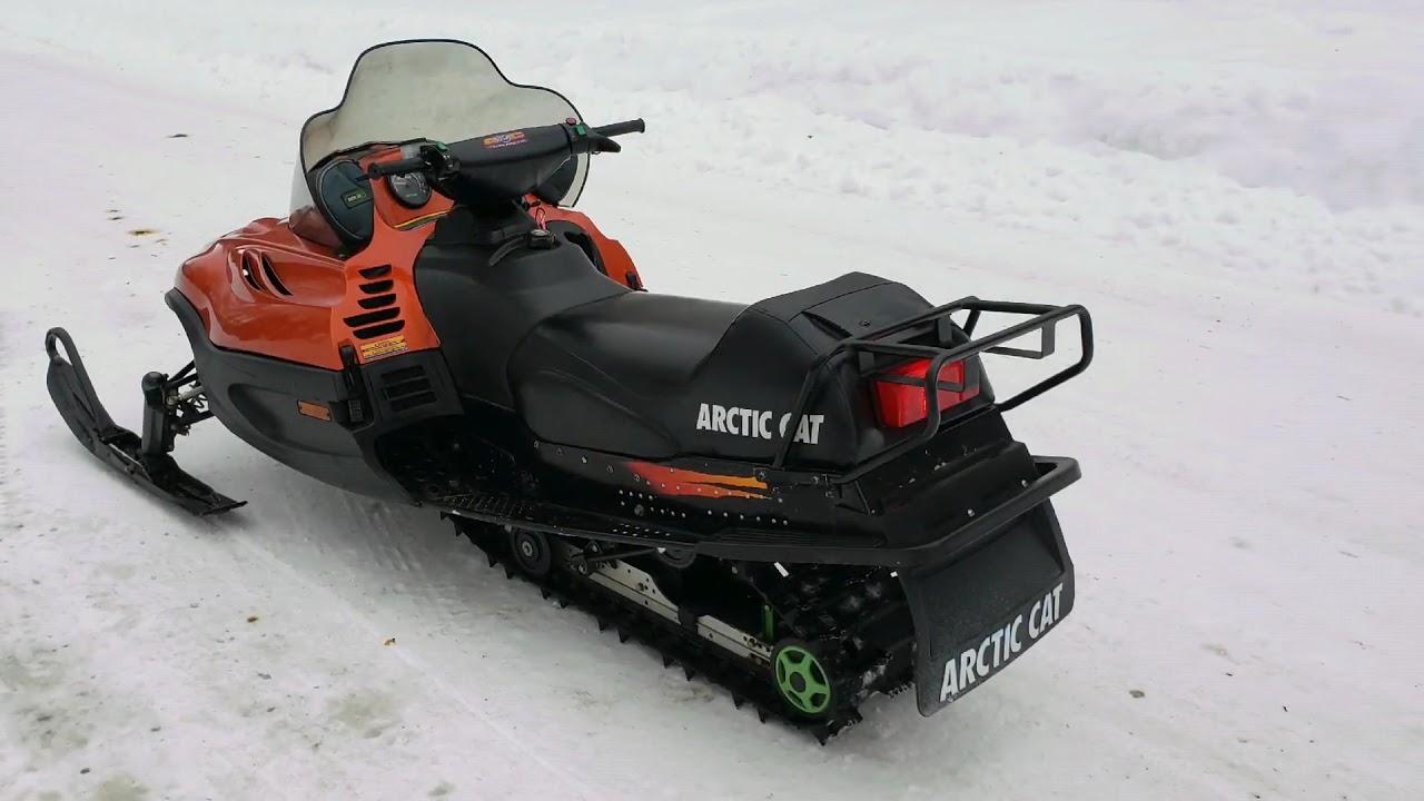 Arctic Cat 440 500 550 580 600 700 Snowmobile Service Repair Manual 1999-2000