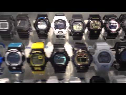Casio G-Shock in Dubai Airport Duty Free