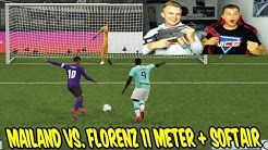 SERIE A Pokal AC MAILAND vs. LAZIO ROM 11 Meter schießen + SOFTAIR Strafe! - Fifa 20 Ultimate Team