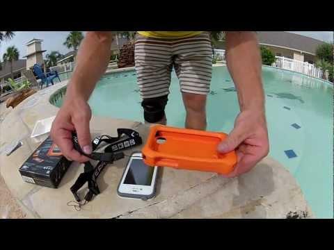 100% authentic 4d9e5 7e7c9 LifeProof Life Jacket! Float your iPhone! | MicBergsma - YouTube