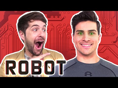 MY BEST FRIEND IS A ROBOT