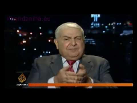 Iran Iraq debate about border oil field aired on Aljazeera