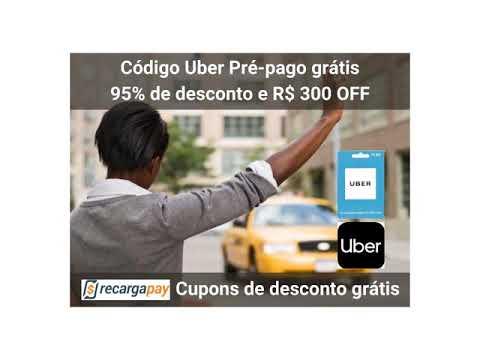 GRATIS: Código uber pré pago grátis – Obtenha 95% de desconto e R$ 300 OFF