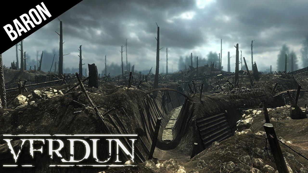 Verdun Multiplayer Gameplay