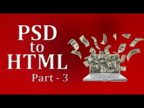 3. PSD To HTML   For Theme Forest   Bangla   Slider, Owl Carousel, Animate Css