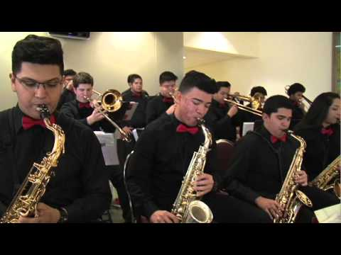 HISD Fine Arts Performance   Waltrip HS Jazz Band 2016