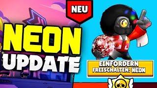 ⚡️NEUES NEON UPDATE! | Fahrzeuge, Neue Skins, Club Features, usw.? | Brawl Stars deutsch