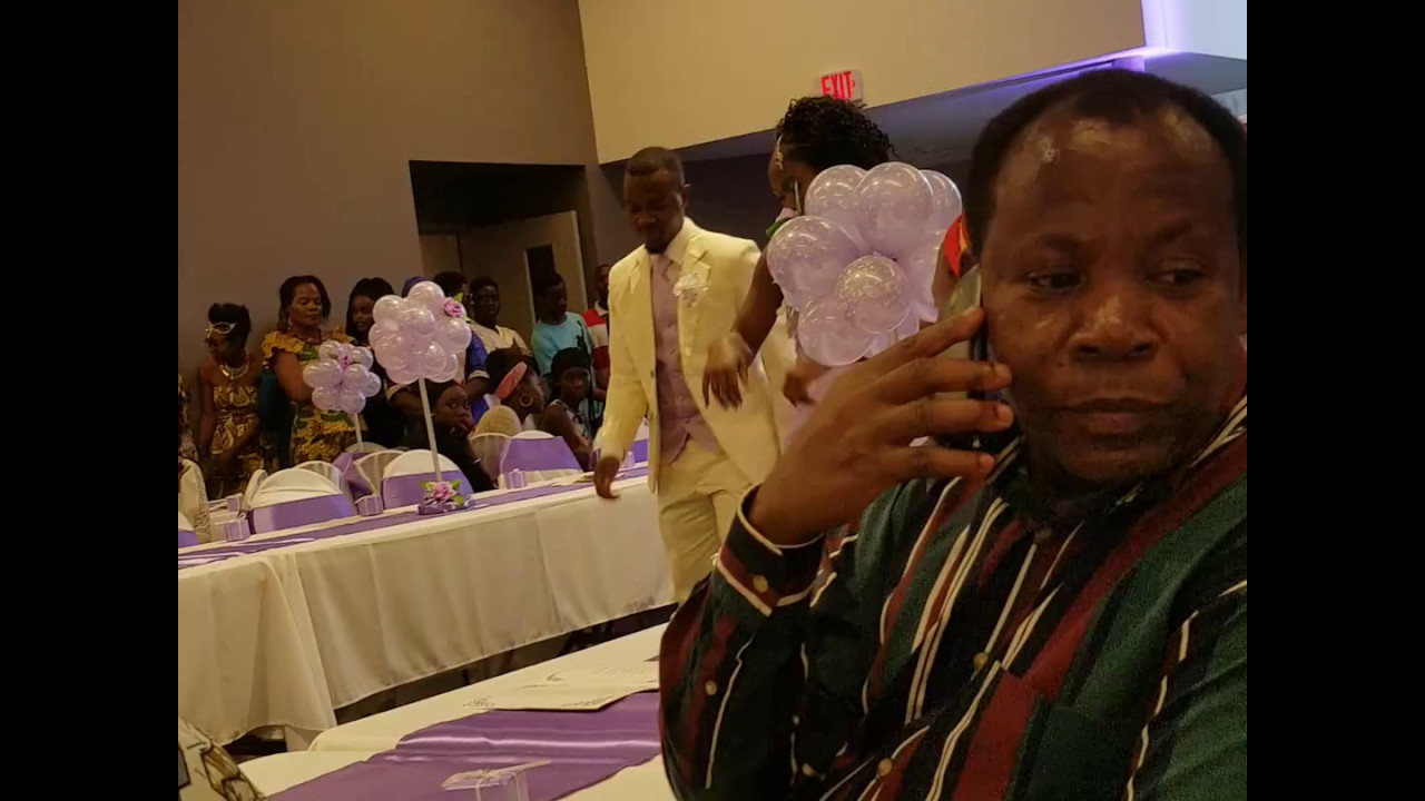 African Burundi And Liberian Traditional Wedding