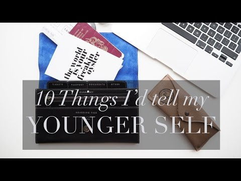 10 Things I'd Tell My Younger Self | How to be Slim, Shaving my head & EYEBROWS | Lydia Elise Millen