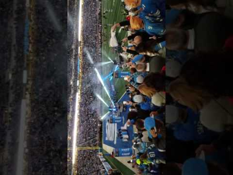 Detroit Lions In The Building!!!