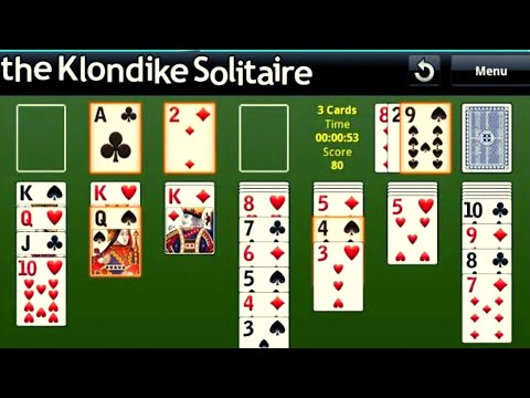 The Klondike Solitaire Complete Gameplay # Best Card Game 2019 #
