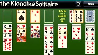 The Klondike Solitaire Complete Gameplay # Best Card Game 2020 #