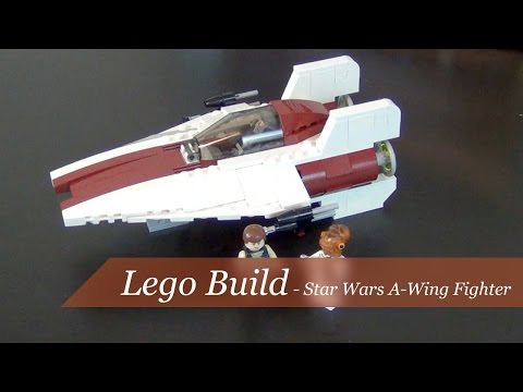Lego Build - Star Wars A-Wing Fighter Set #75003