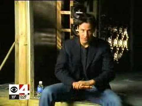 Keanu Reeves - The Matrix (short interview)