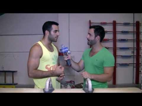 Detrás de cámaras con Danell Leyva para LifeStyle Miami.com