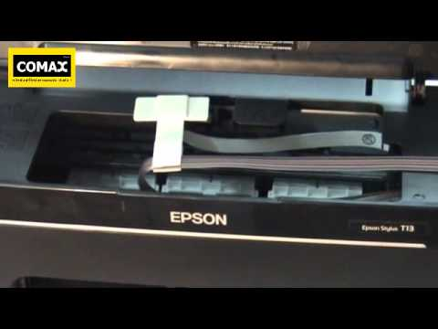 การติดตั้ง INK TANK COMAX Epson T13