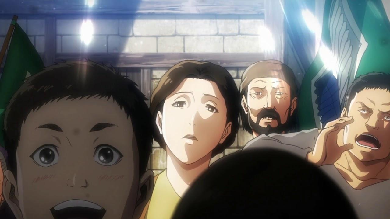 Attack on Titan Opening - 3English - Shinzou Wo Sasageyo ...