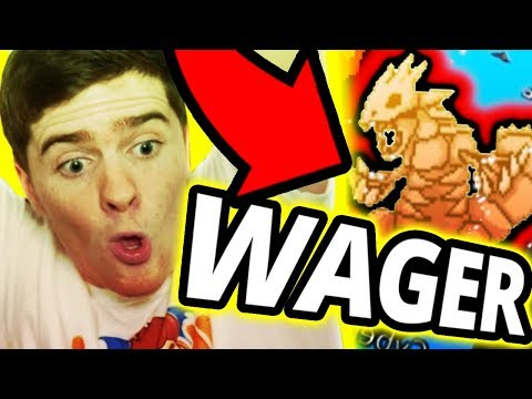 Skeleton Groudon Wager in Project Pokemon! (INSANE WAGER)