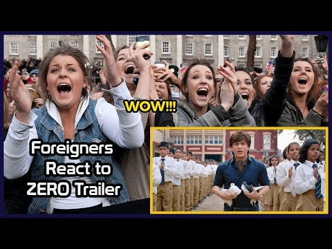 Foreigners React to ZERO Trailer | Shah Rukh Khan | Anushka