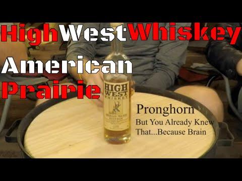 High West Whiskey - American Prairie - Whisky Wednesday