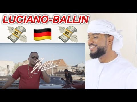 ARAB REACTION TO GERMAN RAP BY LUCIANO - BALLIN **AMAZING**