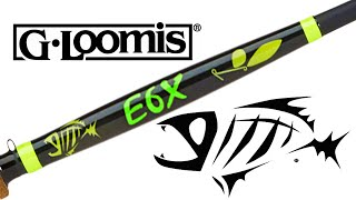 inventive fishing new product introduction g loomis e6x inshore rods