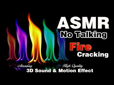 ASMR🔥 Fire Cracking 🔥|Fireplace🔥|No Talking|3D High Quality
