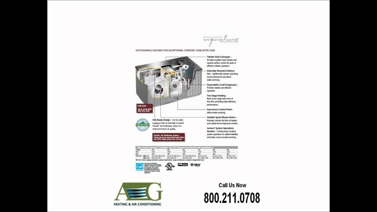 AG Heating and Air Conditioning 15GCSX Gas/Electric