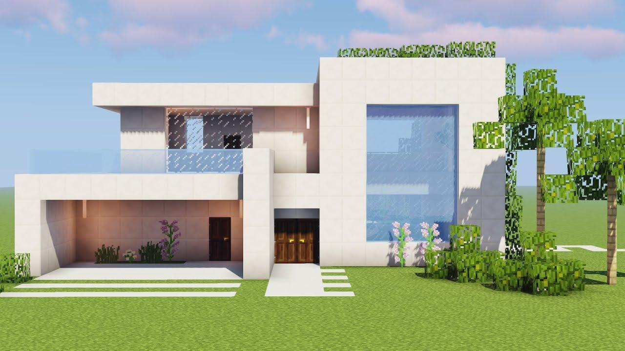Minecraft como fazer uma casa de rico building modern for Casa moderna a torino