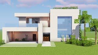 Minecraft - Como fazer uma Casa de Rico (Building Modern House)