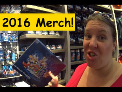 Shopping for 2016 Merchandise in Walt Disney World Florida!