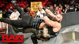 Video Roman Reigns vs. Braun Strowman - Last Man Standing Match: Raw, Aug. 7, 2017 download MP3, 3GP, MP4, WEBM, AVI, FLV Juli 2018