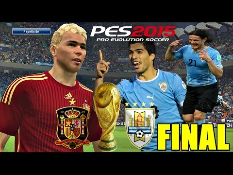 PES 2015 Become a Legend | ESPAÑA - URUGUAY [ WORLD CUP 2018 ] FINAL #58 | 2.0 |