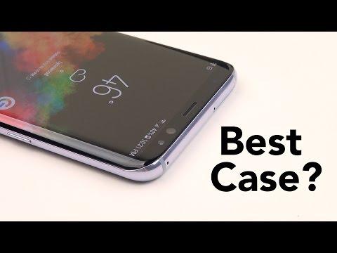 Galaxy S8 & S8+ || How to Protect a Curved Phone? (RhinoShield CrashGuard)