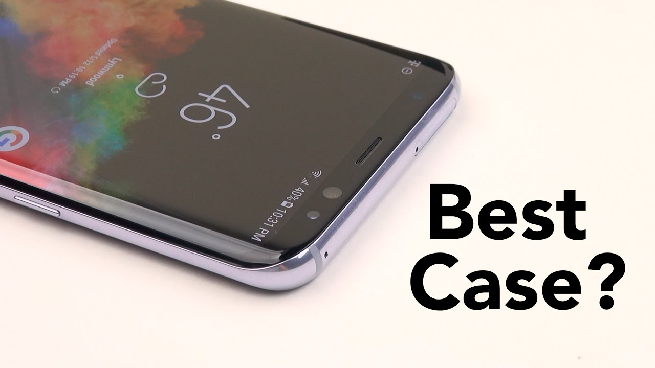 promo code 865a4 e4476 Galaxy S8 & S8+ || How to Protect a Curved Phone? (RhinoShield CrashGuard)