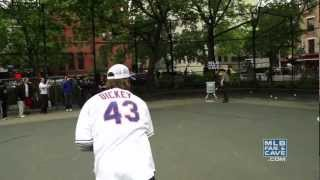2012 NL Cy Young Winner R.A Dickey Plays Wiffle Ball